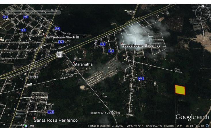 Foto de terreno comercial en venta en  , la guadalupana, mérida, yucatán, 1620000 No. 01