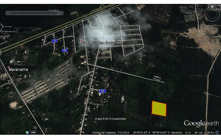 Foto de terreno comercial en venta en  , la guadalupana, mérida, yucatán, 1620000 No. 02