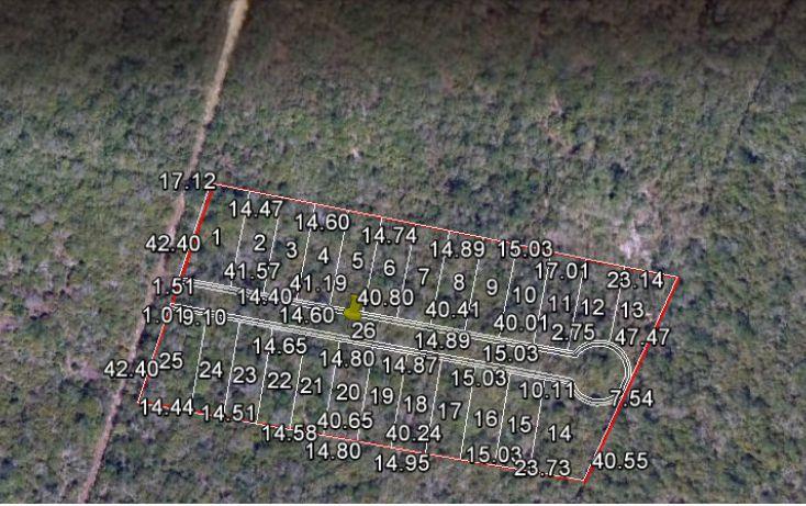 Foto de terreno habitacional en venta en, la guadalupana, mérida, yucatán, 1724762 no 02