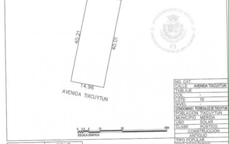 Foto de terreno habitacional en venta en, la guadalupana, mérida, yucatán, 1724762 no 04