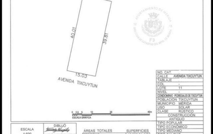 Foto de terreno habitacional en venta en, la guadalupana, mérida, yucatán, 1724762 no 05