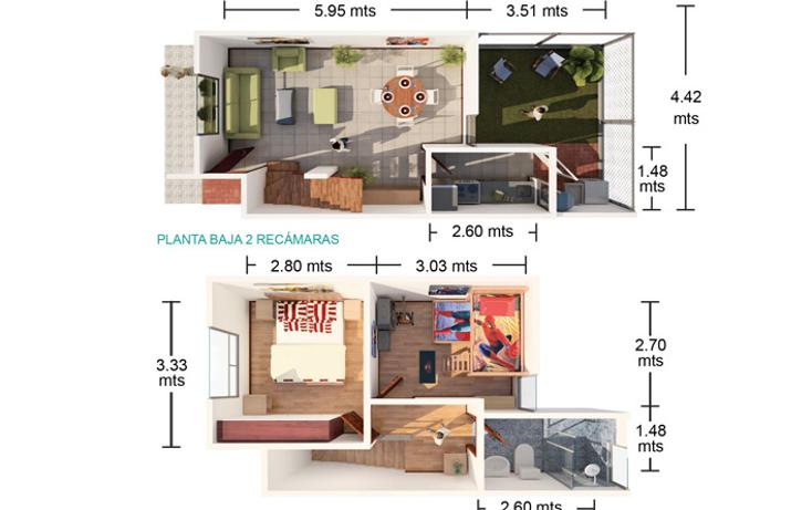Foto de casa en venta en  , la herradura, cuautlancingo, puebla, 1660824 No. 04