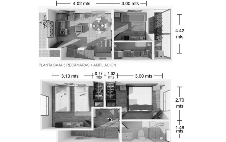 Foto de casa en venta en  , la herradura, cuautlancingo, puebla, 1660824 No. 07