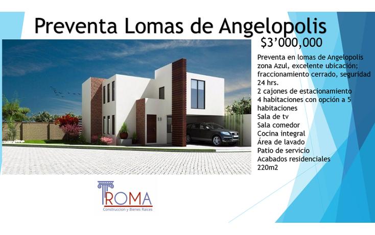 Foto de casa en venta en  , la isla lomas de angel?polis, san andr?s cholula, puebla, 1452307 No. 01