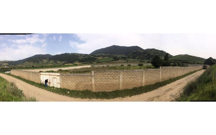 Foto de terreno habitacional en venta en  , la joya, toluca, méxico, 1717924 No. 01