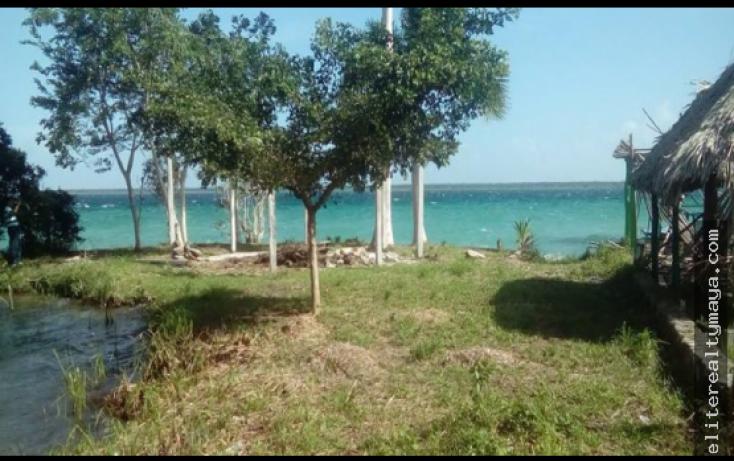 Foto de terreno habitacional en venta en, la laguna, bacalar, quintana roo, 1959475 no 01