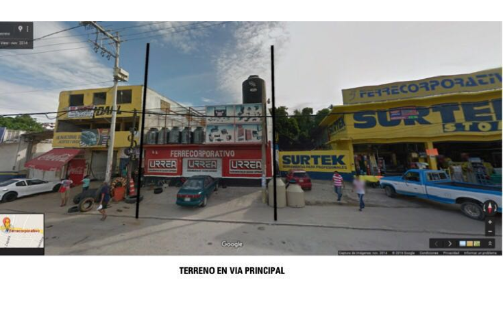 Foto de terreno comercial en venta en  , la libertad, acapulco de juárez, guerrero, 1602522 No. 01