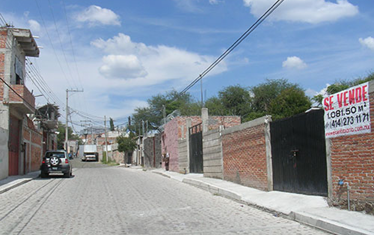 Foto de terreno habitacional en venta en  , la magdalena, tequisquiapan, quer?taro, 1306061 No. 02