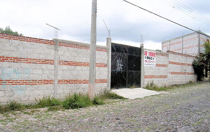 Foto de terreno habitacional en venta en  , la magdalena, tequisquiapan, querétaro, 1344649 No. 01