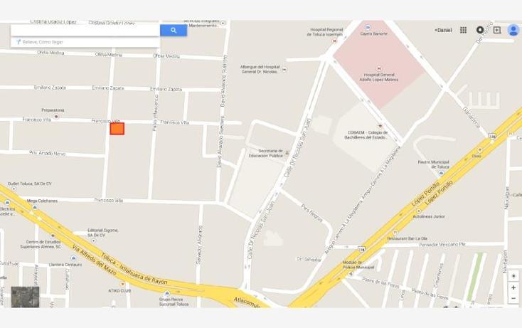 Foto de terreno habitacional en venta en  , la magdalena, toluca, méxico, 1568006 No. 03