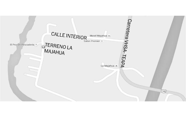 Foto de terreno habitacional en venta en  , la majahua, centro, tabasco, 1617830 No. 04