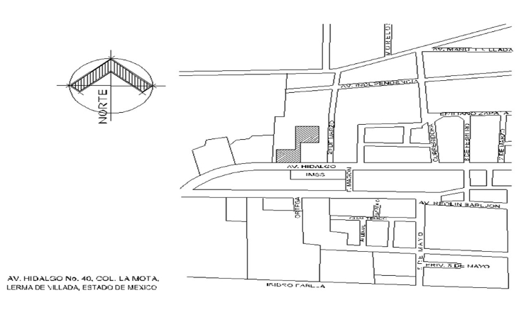 Foto de terreno comercial en venta en  , la mota, lerma, méxico, 1044557 No. 05