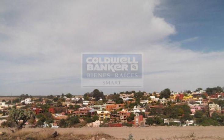 Foto de terreno habitacional en venta en la palmita, la palmita, san miguel de allende, guanajuato, 519330 no 01