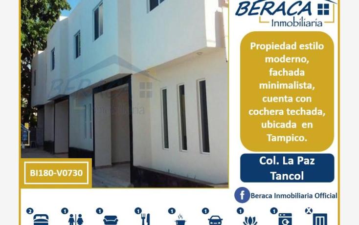 Foto de casa en venta en  , la paz, tampico, tamaulipas, 1795850 No. 01