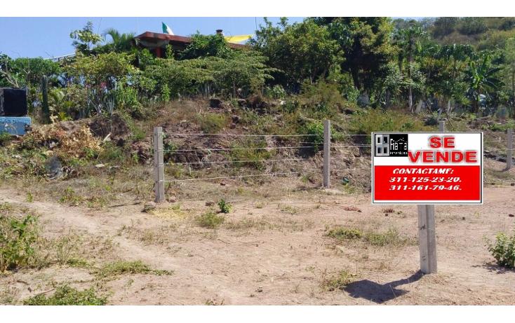Foto de terreno habitacional en venta en  , la peñita de jaltemba centro, compostela, nayarit, 1330151 No. 01