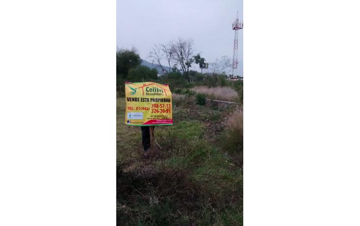 Foto de terreno habitacional en venta en  , la quemada, morelia, michoacán de ocampo, 1042569 No. 01