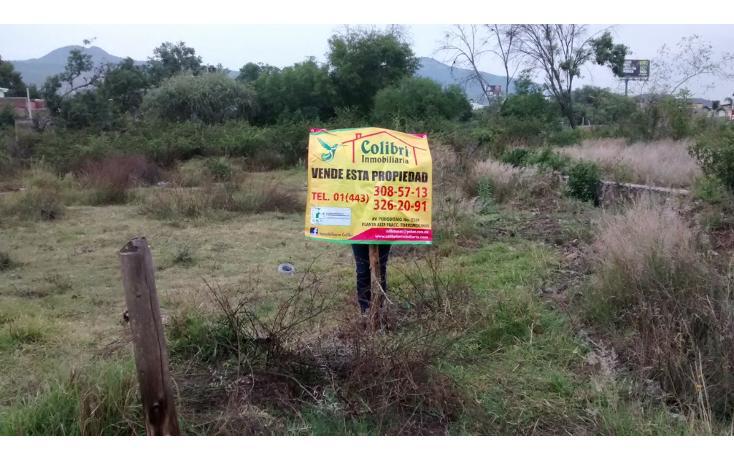 Foto de terreno habitacional en venta en  , la quemada, morelia, michoacán de ocampo, 1042569 No. 02