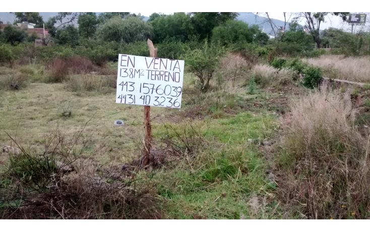 Foto de terreno habitacional en venta en  , la quemada, morelia, michoacán de ocampo, 1042569 No. 04