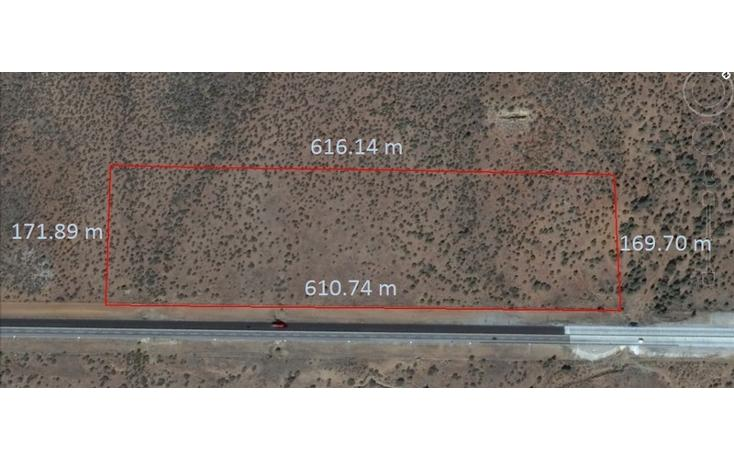 Foto de terreno habitacional en venta en  , la rumorosa, tecate, baja california, 1661179 No. 01