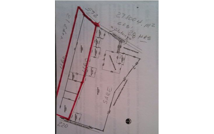 Foto de terreno habitacional en venta en  , la trinidad, zumpango, m?xico, 1165127 No. 02