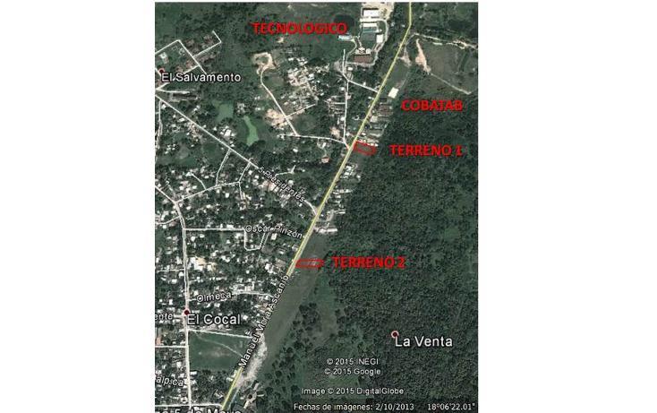 Foto de terreno habitacional en venta en  , la venta, huimanguillo, tabasco, 1907711 No. 02