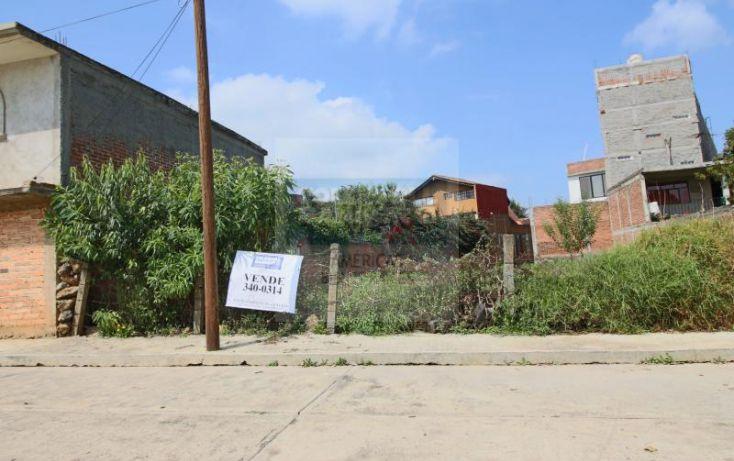 Foto de terreno habitacional en venta en la virgen 1, la virgen, pátzcuaro, michoacán de ocampo, 1427363 no 01