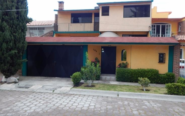 Foto de casa en venta en  , la virgen, metepec, méxico, 1069481 No. 01