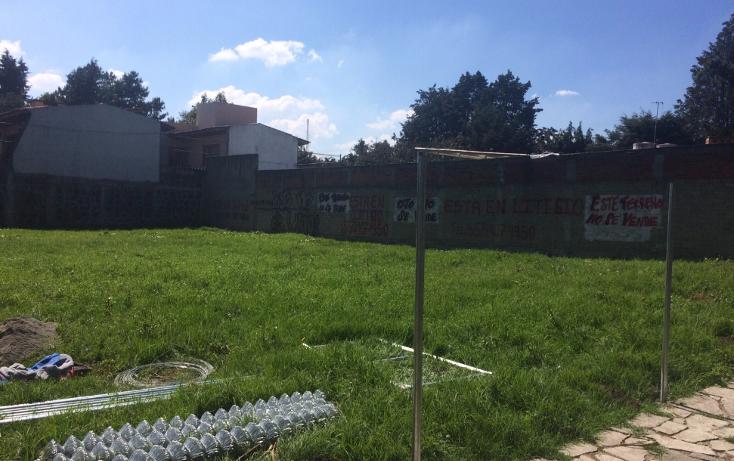 Foto de terreno habitacional en venta en  , la virgen, metepec, méxico, 1476049 No. 01