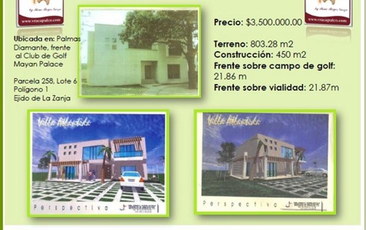 Foto de casa en venta en  , la zanja o la poza, acapulco de juárez, guerrero, 1058297 No. 03