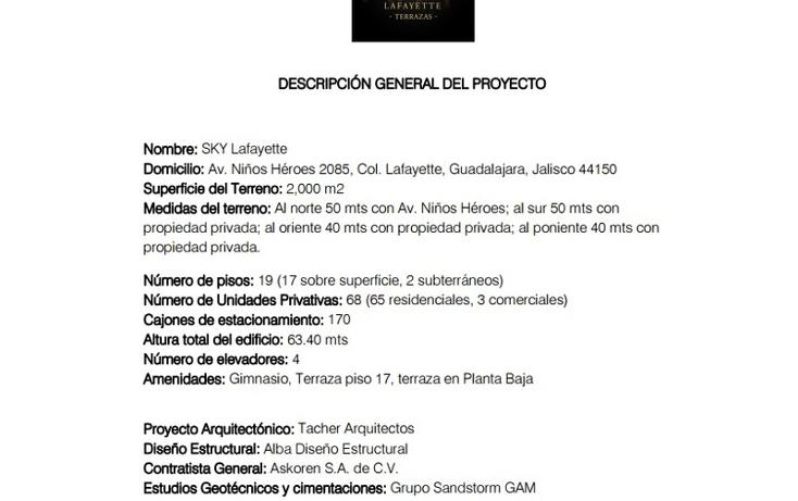 Foto de departamento en venta en  , lafayette, guadalajara, jalisco, 1521255 No. 06