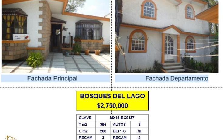 Foto de casa en venta en  , lago de guadalupe, cuautitlán izcalli, méxico, 962557 No. 01