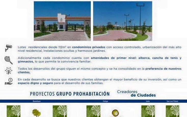 Foto de terreno habitacional en venta en  , lagos del campestre, león, guanajuato, 2729148 No. 08