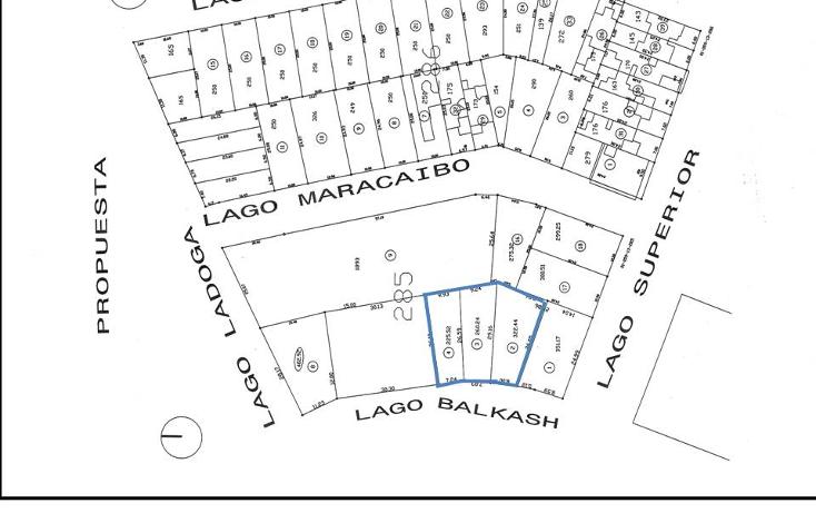 Foto de terreno habitacional en venta en  , lagos del country, tepic, nayarit, 1045535 No. 01