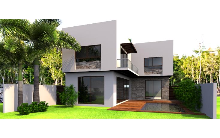 Foto de casa en venta en  , lagos del sol, benito juárez, quintana roo, 1284431 No. 01