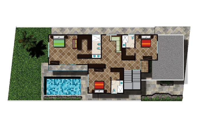 Foto de casa en venta en  , lagos del sol, benito juárez, quintana roo, 1284431 No. 11