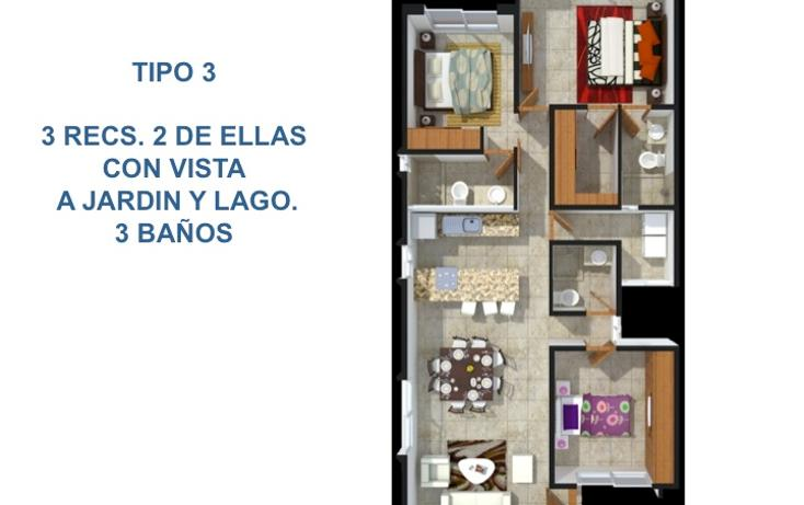 Foto de departamento en venta en  , lagos del sol, benito juárez, quintana roo, 1319667 No. 17
