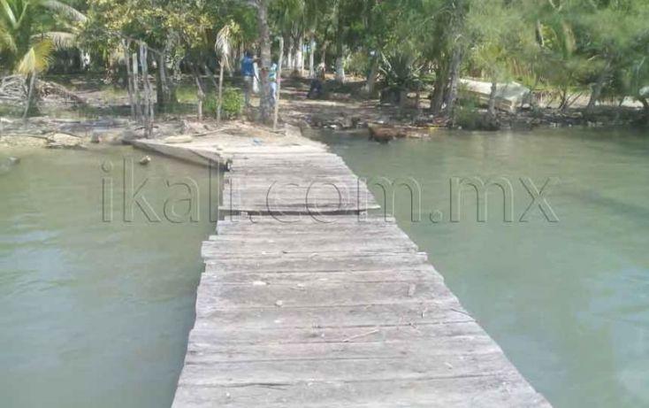 Foto de terreno habitacional en venta en laguna de tampamachoco, la mata, tuxpan, veracruz, 1431623 no 05