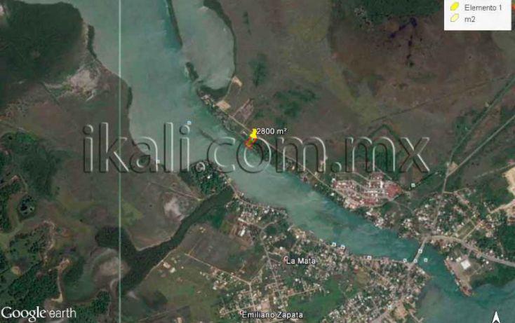 Foto de terreno habitacional en venta en laguna de tampamachoco, la mata, tuxpan, veracruz, 1431623 no 15