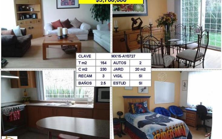 Foto de casa en venta en  , las alamedas, atizapán de zaragoza, méxico, 1527290 No. 01