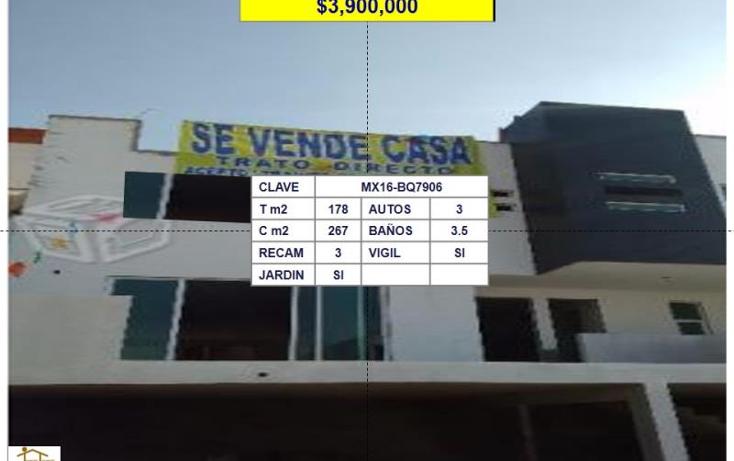 Foto de casa en venta en  , las alamedas, atizapán de zaragoza, méxico, 1705614 No. 01