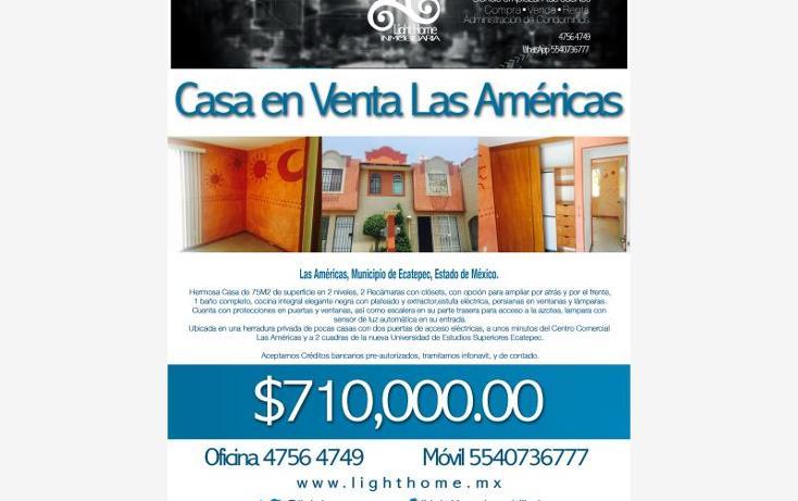 Foto de casa en venta en  , las am?ricas, ecatepec de morelos, m?xico, 1946908 No. 06