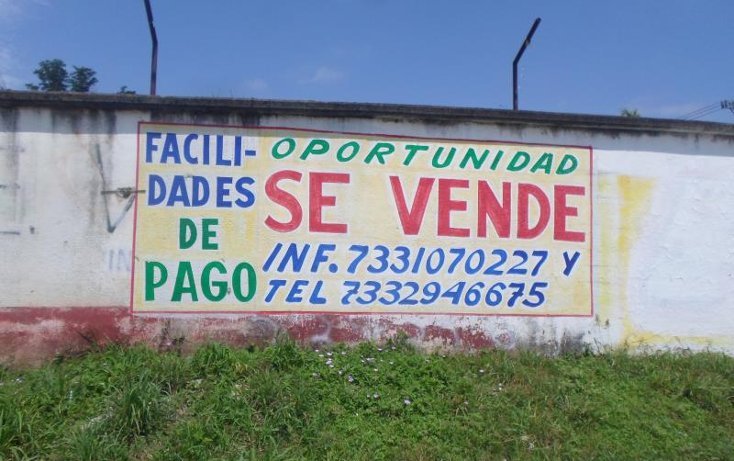 Foto de terreno comercial en venta en  , las am?ricas ii, iguala de la independencia, guerrero, 1464857 No. 01