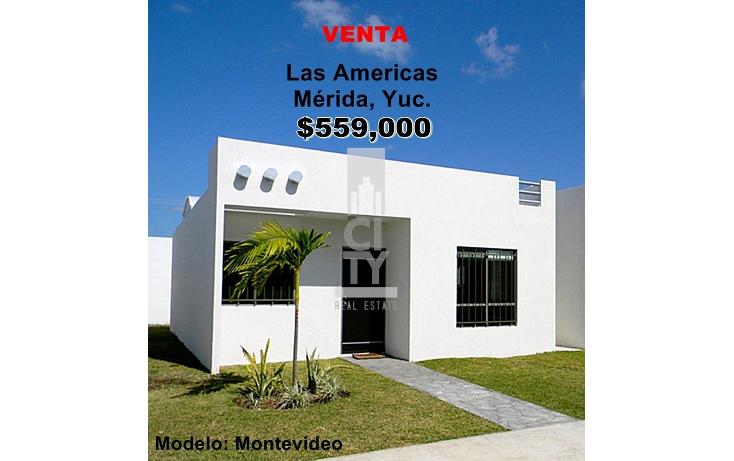 Foto de casa en venta en  , las am?ricas m?rida, m?rida, yucat?n, 1959997 No. 01