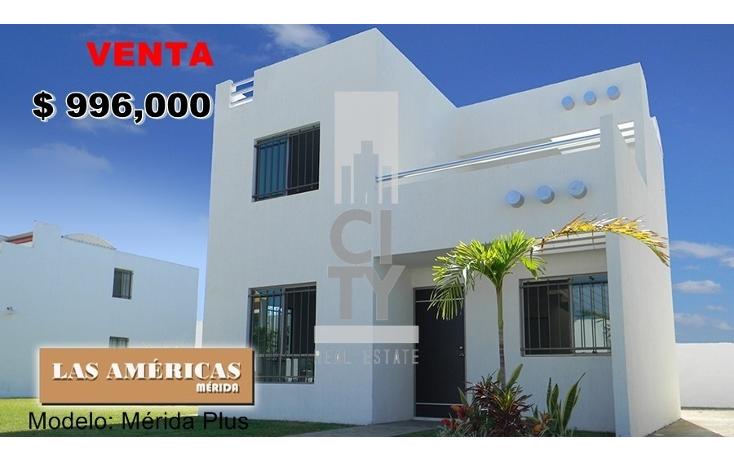 Foto de casa en venta en  , las am?ricas m?rida, m?rida, yucat?n, 1960001 No. 01