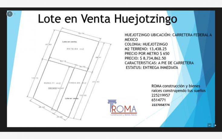 Foto de terreno industrial en venta en, las ánimas, huejotzingo, puebla, 1439439 no 02