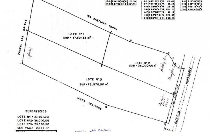 Foto de terreno comercial en venta en, las brisas, saltillo, coahuila de zaragoza, 650077 no 01