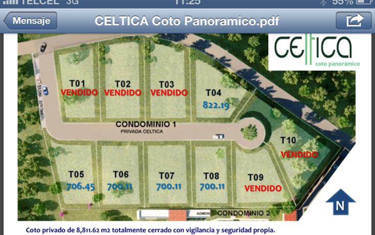 Foto de terreno habitacional en venta en  , las ca?adas, zapopan, jalisco, 1124529 No. 13
