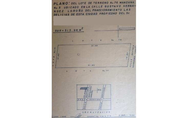 Foto de terreno comercial en venta en  , las delicias, centro, tabasco, 1163007 No. 01
