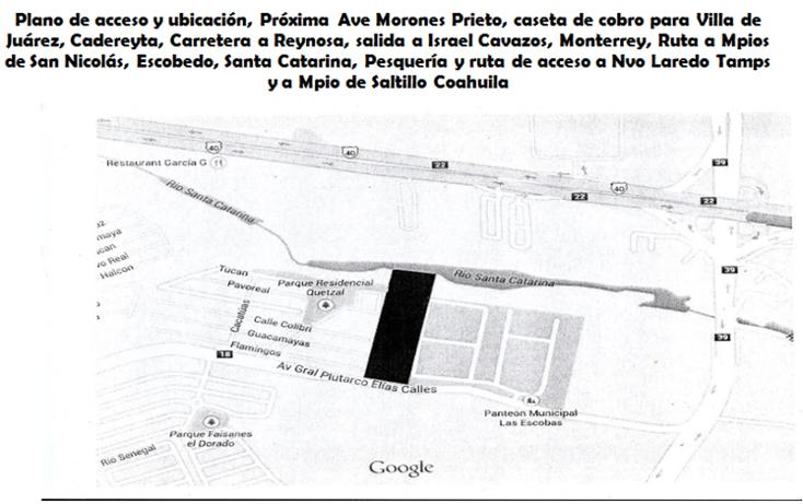 Foto de terreno comercial en venta en  , las escobas, guadalupe, nuevo le?n, 1545830 No. 02