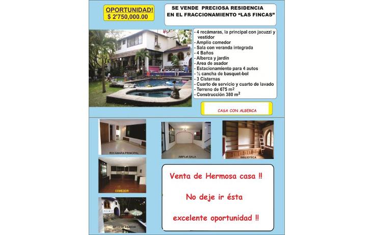 Foto de casa en venta en  , las fincas, jiutepec, morelos, 1102171 No. 02